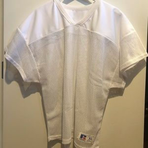 Russell Athletic Men's White Scrimmage Jersey XL